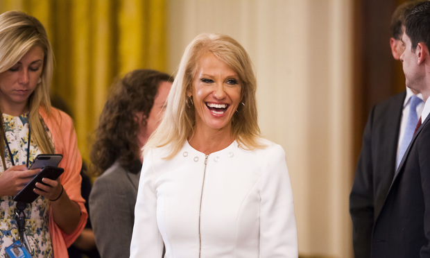 Kellyanne Conway Plays the Mommy Card | The American Lawyer