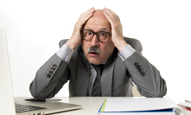 photo of stressed man