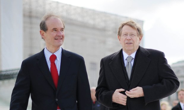 Ted Olson and David Boies