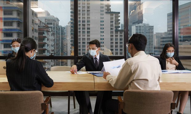 masks in meeting
