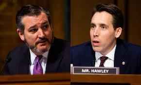 Will Big Law Take Cruz and Hawley