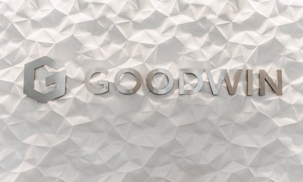 Goodwin Procter's offices in San Francisco, California. Photo: Jason Doiy/ALM