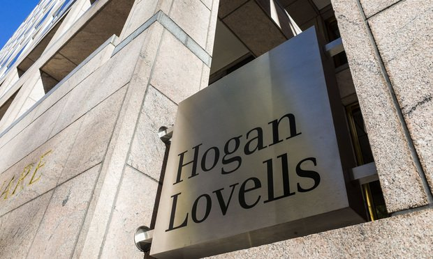 Hogan Lovells' Washington, D.C., offices. Photo: Diego M. Radzinschi/ALM