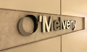 Litigation Heavy O'Melveny Sees Flat Revenue 6 Profit Increase