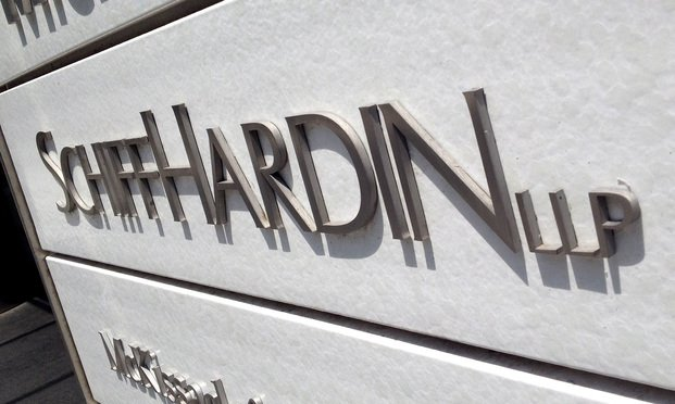 Schiff Hardin law firm. Photo: Diego M. Radzinschi/ALM<
