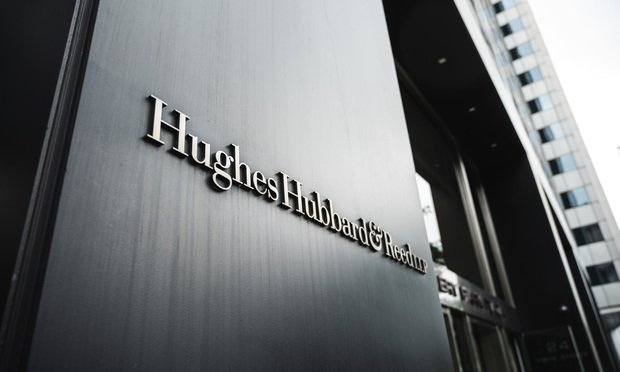 Hughes Hubbard & Reed's NY Office. Photo: Ryland West/ALM