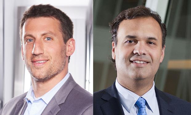 Quinn Emanuel's Alex Spiro, left, and William Burck, right.