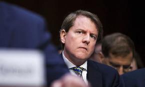 DOJ Says White House Can Block Don McGahn's Congressional Testimony