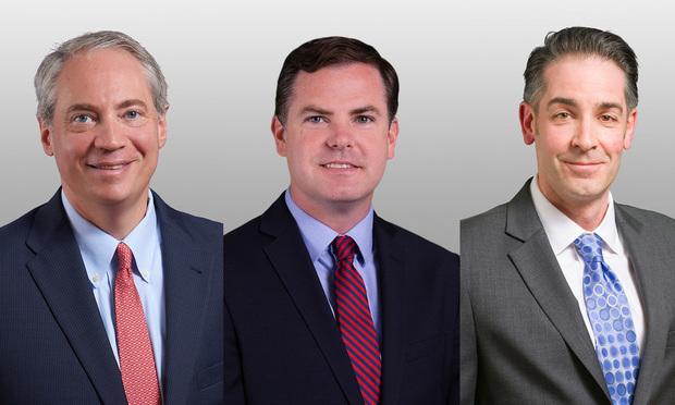 Ethan Posner, Matthew Dunn and Christopher Denig Covington Burling