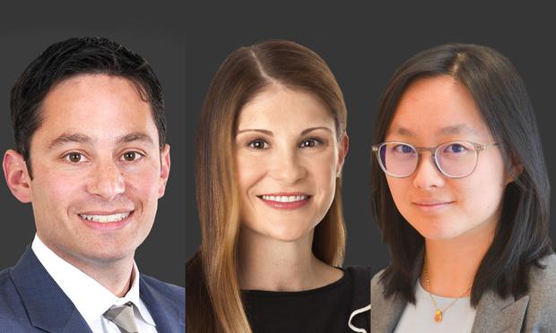 Matt Berkowitz and Kieran Kieckhefer  and associate Joy Wang
