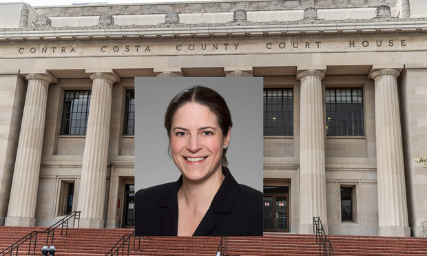 Tenaya Rodewald, Sheppard Mullin's Silicon Valley office will be arguing remotely at Contra Costa Superior. (Photo: Courtesy Photo)