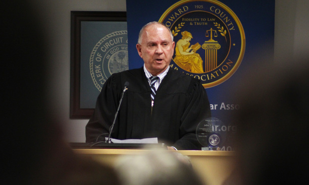 1/19/18- Fort Lauderdale- Broward County Court Chief Judge Jack Tuter, speaks during the 2018 Judicial Procession and State of the Circuit event.