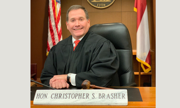 Judge Christopher Brasher, Chief Judge, Fulton County Superior Court.