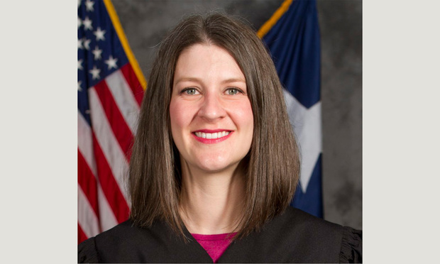 Judge Emily Miskel, 470th district court of Collin County, Texas (Photo: Courtesy Photo)