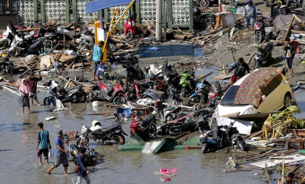 Image result for Indonesia's Deadly Tsunami
