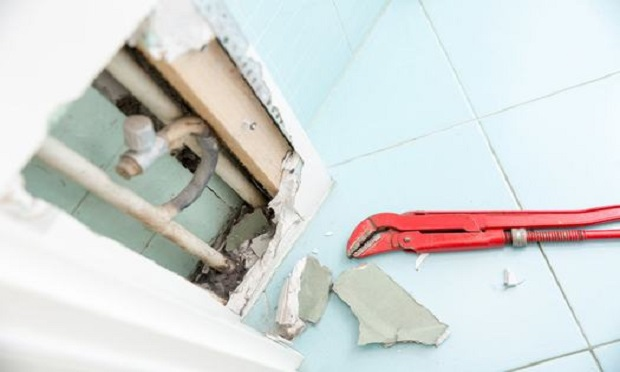 Hidden leaks in heating or water supplies can cause rot and other damage if left untreated. (Photo: Shutterstock)