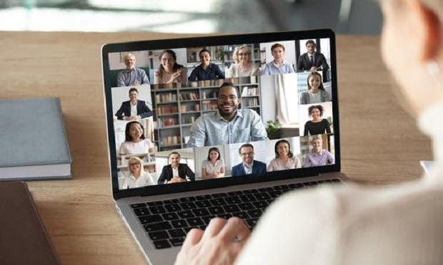 Many insurance events and conferences have moved to virtual formats during the pandemic. (Photo: Shutterstock)