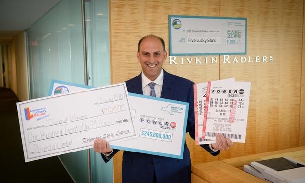 "The ""Lottery Lawyer"" Jason Kurland of Rivkin Radler"