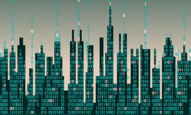 Futuristic Digital City
