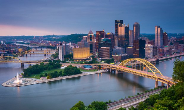 Pittsburgh, Pennsylvania. Photo by ESB Professional/shutterstock