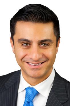 Nader Pakfar, managing partner of Sutton Pakfar & Courtney in Los Angeles