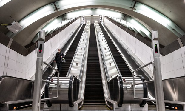 69th Street Subway Entrance during the Coronavirus Pandemic