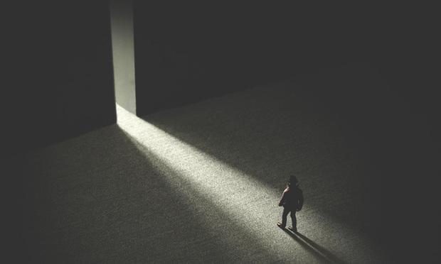 walking through open door - Shutterstock.com