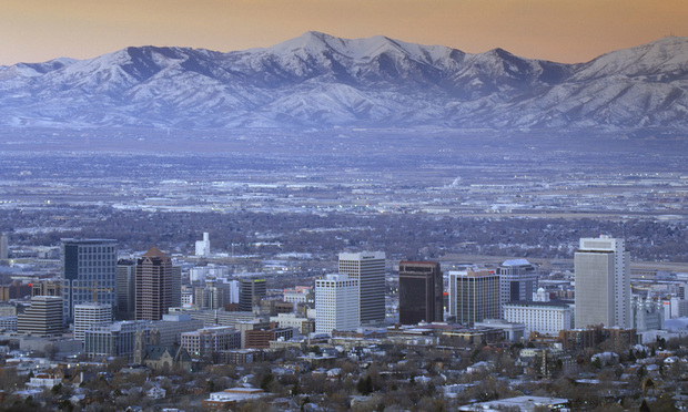 Salt Lake City, with the Wasatch Mountains in the background. - Photo: Joseph Sohm/Shutterstock.com