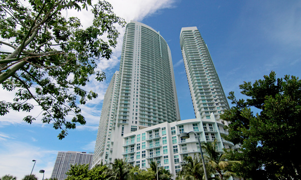 Quantum on the Bay condominiums at 1900 N. Bayshore Dr.