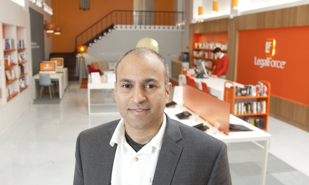 Raj Abhyanker, founder of LegalForce