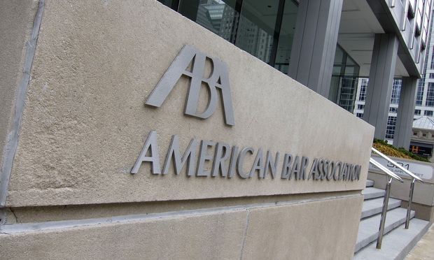American Bar Association in Chicago.
