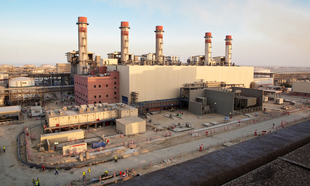 An Alstom power plant in Az Zour, Kuwait.