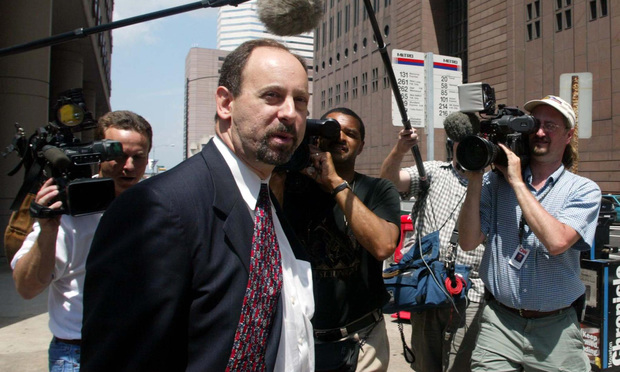 Spencer Barasch, the SEC's assistant enforcement director in Fort Worth, during the federal government's Enron-related trial of accounting giant Arthur Andersen in 2002.