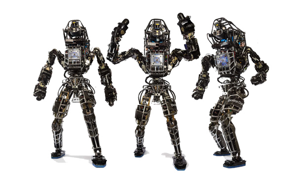 Boston Dynamics' Atlas robot.