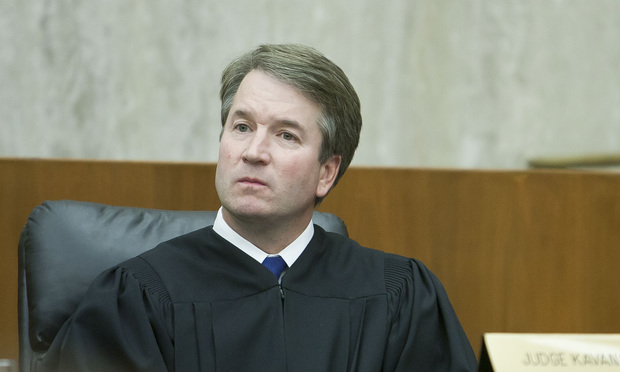 Judge Brett Kavanaugh of the D.C. Circuit