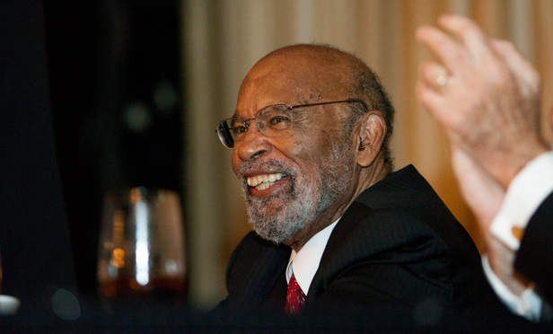 Judge Thelton Henderson receives the 2013 Thurgood Marshall Award from the American Bar Association on Saturday, August 10th at the Westin St. Francisco Hotel in San Francisco. ..