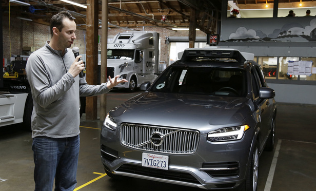 Morrison & Foerster admitted it accidentally retained files from Anthony Levandowski, pictured, who formerly headed Uber's driverless car division.