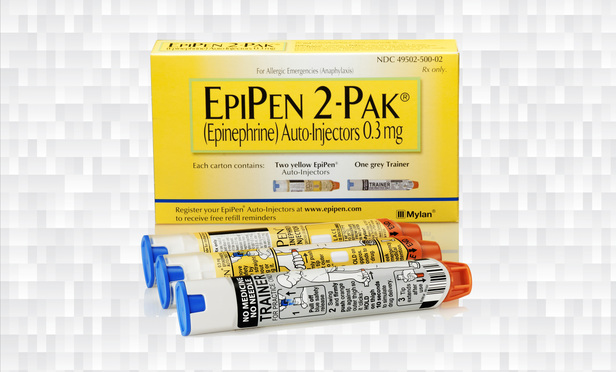 EPIPEN® (epinephrine injection, USP) Auto-Injector 0.3 mg