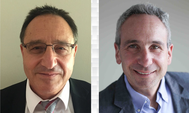 Left to right: Daniel A. Horowitz and Bruce Gerstman ...