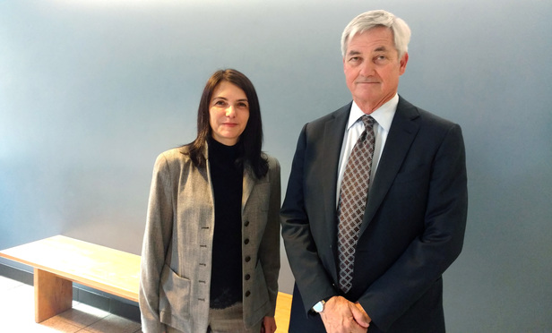 JAMS' principal outside counsel, Long & Levit partners Joseph McMonigle and Jessica MacGregor