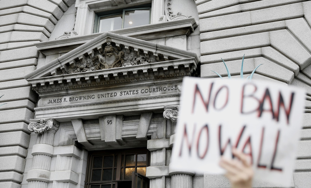 U.S. Court of Appeals for the Ninth Circuit, where a three-judge panel heard arguments on the halting of the immigration ban.