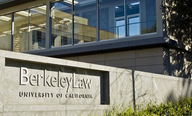 University of California at Berkeley, Boalt Hall School of Law.