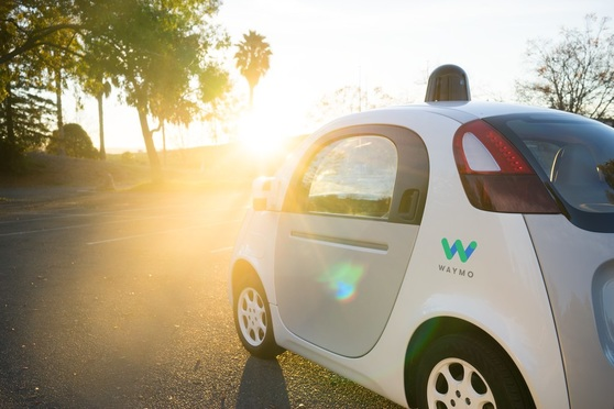 Waymo driverless vehicle