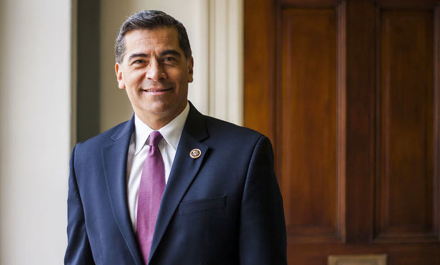 U.S. Congressman Xavier Becerra (D-CA), Attorney General nominee for the state of California. December 8, 2016.