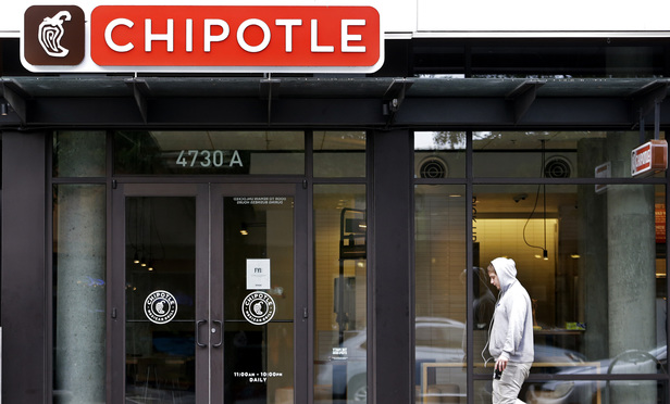 Chipotle closed 43 restaurants in two states and saw its share price plunge by 22 percent.
