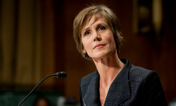 Deputy Attorney General Sally Yates.