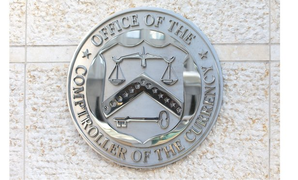 Office of the Comptroller of the Currency in downtown Washington, DC.