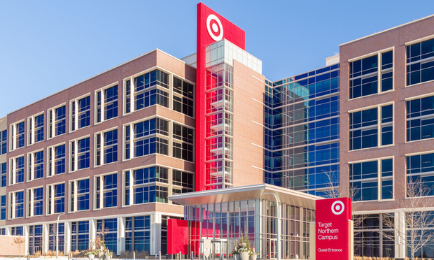 Target Corporation corporate headquarters in Minneapolis, MN.