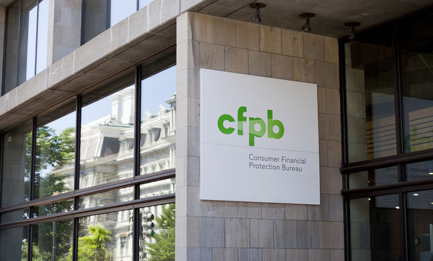 Consumer Financial Protection Bureau building in Washington, D.C.
