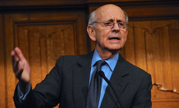 Speaking at Yale, Justice Breyer Calls Scalia 'Titan of Law'